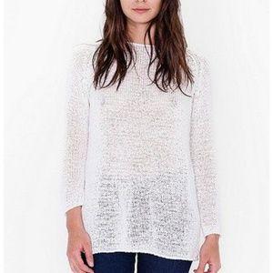 American Apparel Delphine Tunic Sweater